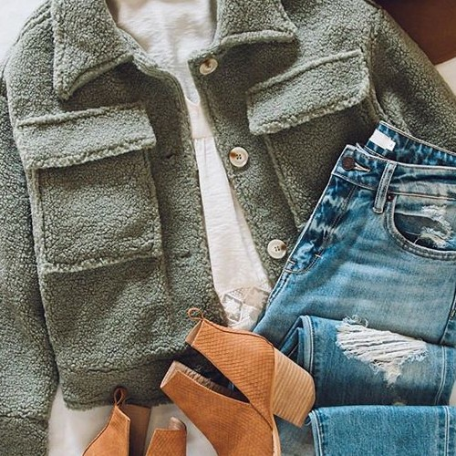 Making sure to wear all of our winter clothes, before spring comes! #hiddenjeans #spottedinhidden-