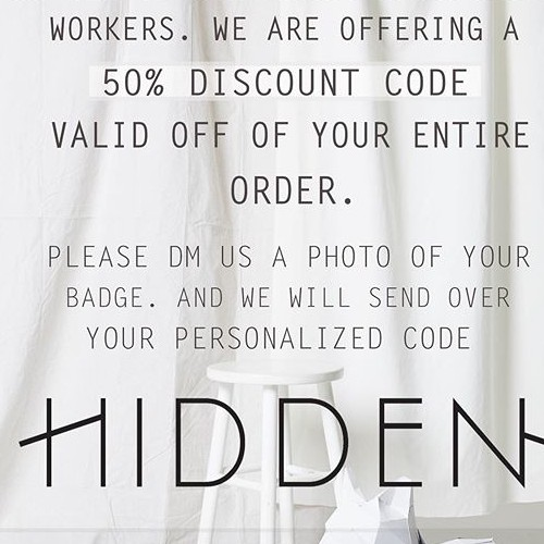 Thank you to all of our healthcare workers! #hiddenjeans #spottedinhidden-